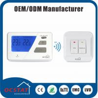 China 230V Air Conditioning Wireless RF Room Thermostat For Combi Boiler RF 868MHZ radio frequency RF Wireless thermostats wholesale