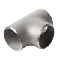 China Customized Stainless Steel Butt Weld Galvanized Pipe Fittings Sch40 Equal Tee wholesale