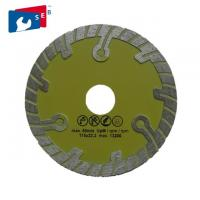 China 115mm Diamond Blade For Circular Saw , Granite Cutting Disc With Turbo Wave  wholesale