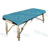 China Ultrasonic Seam Disposable Bed Sheets Blue Color With Good Skin Affinity,water proof,Examination usage wholesale