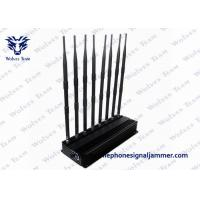 Buy cheap Desktop 3G 4G Mobile Phone Network Signal Jammer and UHF VHF WiFi Jammer from wholesalers