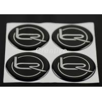 China Custom 3D Domed Stickers Personalized Round Sticker Labels wholesale