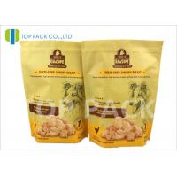 China Heat Sealing 6oz Stand Up Food Pouches With Zipper , Customized Logo wholesale