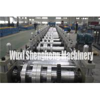 China Gutter Style Ridge Cap Roll Forming Machine Roof Flashing Profile on sale