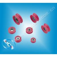China Ceramic roller thread ceramic wire guide pulley thread guide wholesale