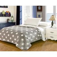 Quality Elegant Home Textile Flannel Fleece Blanket Around 1cm Thickness With ISO9001 Certificated for sale