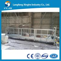 Buy cheap Skylift suspended scaffolding , zlp aerial working platform , construction from wholesalers