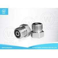 Buy cheap Straight ORFS Male Plug Thread Hydraulic Adapters , Hydraulic Hose Connectors Fittings from wholesalers