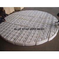 China PP / Nylon Knitted Wire Mesh Demister Pad For Filtering And Separating In Recation Tower wholesale