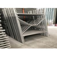 China Safety Scaffolding Frame System Tubular Aluminum Scaffolding Q345 Material on sale