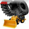 China Wheel Loader Solid Tire, Cushion Tyre for Kawasaki Brand Vehicle wholesale