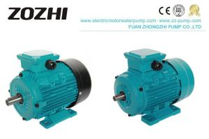 China IP44 Aluminum Electric Induction Motor TEFC For Pump Reducer wholesale