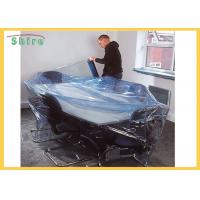 China Size Customized Temporary Protective Film Clear Self Adhesive Film Anti Dust For Funiture wholesale