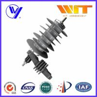China 18KV Silicon Rubber Metal Oxide Station Class Surge Lightning Arresters for Transformer Protection wholesale