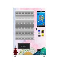China Custom Metal Snack And Drink Vending Machine Anti Theft 22 Inch Touch Screen wholesale