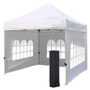 Custom Logo Gazebo Folding Tent , Well Ventilated Canopy Wall Tent