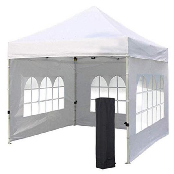 Quality Custom Logo Gazebo Folding Tent , Well Ventilated Canopy Wall Tent for sale