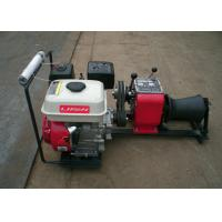 Buy cheap 1 Ton Load Capacity Compact Gasoline Engine Cable Pulling Winches Puller For Cranes from wholesalers