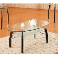 China Clear Modern Glass Bar Table Chrome Tubes Round Extendable Dining Table wholesale