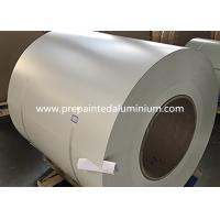 China 2500 mm Width Super Wide Color Coated Aluminum Sheet Used For Truck Body Manufacture wholesale
