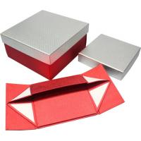 China High grade foldable Paper Gift Boxes , magnets closure paper gift wine box wholesale
