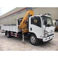 China ISUZU Truck Mounted Telescopic Crane For Construction Material Transportation wholesale