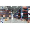 China Custom Powder Coating Warehouse Rack Numbering System 2500kg / Layer Capacity wholesale