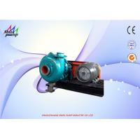 China 76mm Out Dia CR Driving Type 4 / 3 C - AH Centrifugal Heavy Duty Slurry Pump Diesel / Electric Fuel wholesale