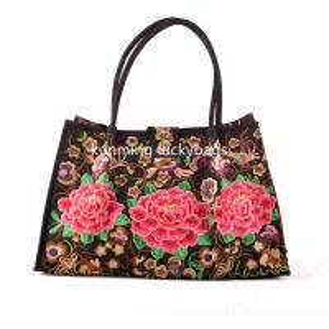 China National trend hmong embroidery handbag chinese fashion ladies handbags wholesale