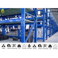 China Rust - Proof Medium Duty Steel Rack For Storage Reasonable Structure wholesale