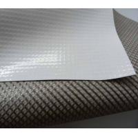 China pvc rollo blockout banner grey back / black back / double side print banner wholesale
