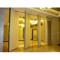 China Multi Color Melamine Portable Folding Doors Office Partition Wall 4m Height wholesale