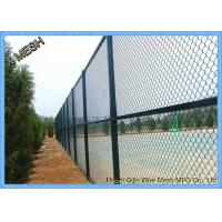 China 10 FT Length Residential Chain Link Security Fence Mesh 1.0-3.0mm Wire Diameter wholesale