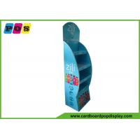 China Soft Drinks Corrugated Paperboard Promotional Display Stands 4 Shelf FL065 wholesale