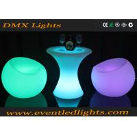 China Plastic Portable LED Cocktail Table Rechargeable Led Light Up Glowing Bar Outdoor wholesale