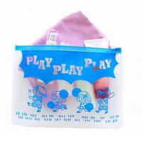 China Play kids plastic zip lock bags / EVA slider bag / EVA zipper bag on sale