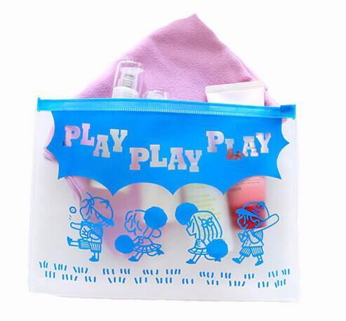 Quality Play kids plastic zip lock bags / EVA slider bag / EVA zipper bag for sale