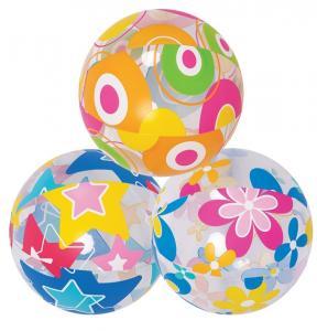 China 3pcs Lovely Cute Sea Creature Clear Beach Ball Lively Print Beach Ball on sale