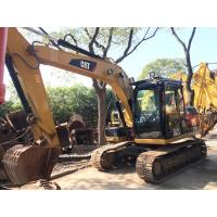 Buy cheap Cat 312d Second Hand Excavators Construction Works High Operating Efficiency from wholesalers