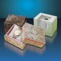 China suitcase paper box with metal handle wholesale