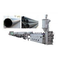 Buy cheap 63-630mm PE HDPE Plastic Pipe Extrusion Machine , Plastic Pipe Extrusion Machine from wholesalers