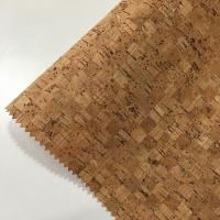 Buy cheap 0.4-1.2MM Thickness Cork Leather Fabric Natrual Sound Insulating Dirt Repellent from wholesalers