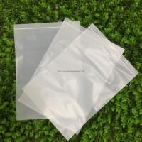China 100% Biodegradable Corn Starch Compostable Ziplock Bag White Customizable PLA wholesale