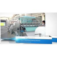 Buy cheap Computerized Industrial Multi Needle Quilting Machine 64 Inches Lockstitch Shuttle Type from wholesalers