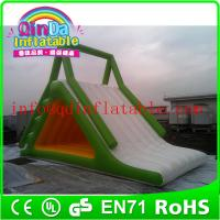 China Giant QinDa inflatable water slide for sea lake pool inflatable water pool slide wholesale