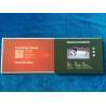 China Custom design Cardboard LCD screen video brochure 4.3'' Hard cover video in folder digital video book video mailer wholesale