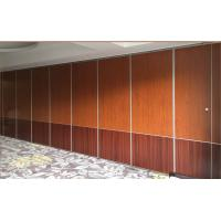 China Conference Room Sound Proof Partitions , Sliding Folding Office Partitions wholesale