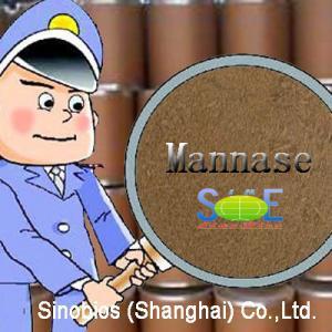 China Enzyme Feed Additive Beta Mannase Powder 50,000u/g Szym-MA50FE(A) for Animal Nutrition wholesale