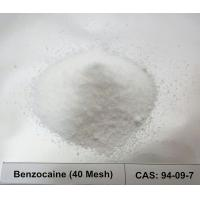 China CAS 94-09-7 Local Anesthetic Raw Powder Benzocaine / Ethyl 4-Aminobenzoate 40 Mesh For Pain Relive on sale