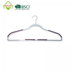 China Ultra Thin ABS Heavy Duty Non Slip Plastic Hangers wholesale